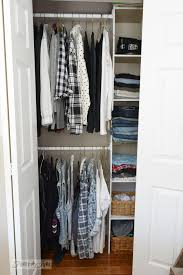 how to build an easy clothes closet from a 50 kit funky junk
