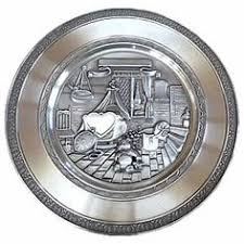 personalized pewter plate engraved birth plate german gifts walls and room