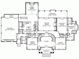 house plans with portico eplans neoclassical house plan pillared portico 5717 square