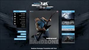 bandzone wordpress theme youtube