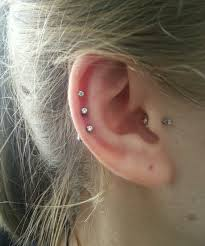 diamond cartilage piercing cartilage piercing in dubai www kyra ae