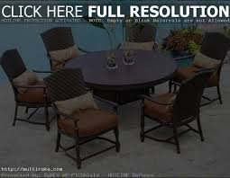 Round Patio Furniture Set by Round Patio Table Cover With Umbrella Hole Patio Round Table