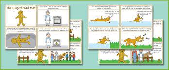 gingerbread man sequencing worksheet free worksheets library