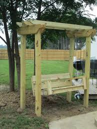 Swing Pergola by Ana White Swing And Arbor Diy Projects