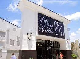 saks fifth avenue off 5th at the colonnade outlets