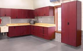 redline garage gear introduces custom cabinet designs growing garage market offers cabinet maker new business opportunities