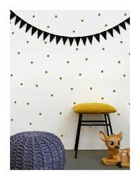 gold dots wall decals dots wall stickers polka dot wall decor