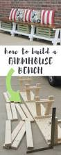 Making A Basic End Table by Best 25 Table Bench Ideas On Pinterest Farmhouse Outdoor