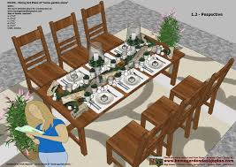 Free Woodworking Plans Patio Table by Home Garden Plans Ds100 Dining Table Set Plans Woodworking