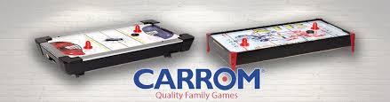 carrom air hockey table amazon com carrom air hockey table top game blue air hockey