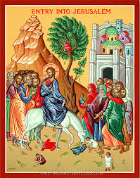 palm sunday palms for sale original painted icon for sale entry into jerusalem original
