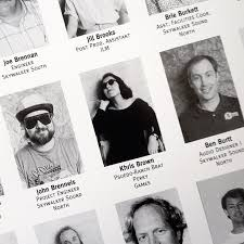 create a company yearbook to celebrate staff and educate clients