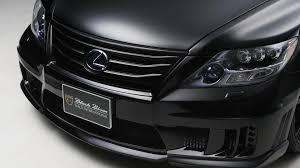 black lexus 2010 lexus ls600h gets black bison edition from wald international