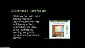 Powerpoint Portfolio Examples Electronic Portfolio Powerpoint Presentation Youtube