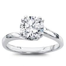 swirl engagement rings solitaire swirl engagement setting r2966