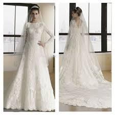 wedding dresses long sleeves high neck ivo hoogveld