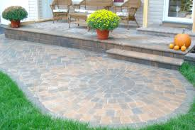 Paver Patio Kits Pavers Patio Circle Design Kit 0097lg