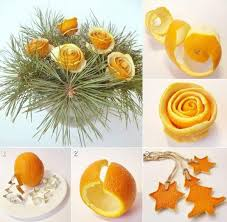 diy orange peel decorations pictures photos and images for