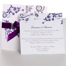 carte de mariage texte carte faire part mariage de mariage