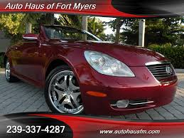 2006 lexus sc 430 ft myers fl for sale in fort myers fl stock