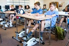 Desk Bike Pedals These North Carolina Middle Students Are Pedaling Their Way