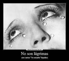 imagenes te extraño con lagrimas no son lágrimas desmotivaciones