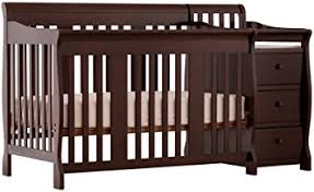 What Is A Convertible Crib Stork Craft Portofino 4 In 1 Fixed Side Convertible