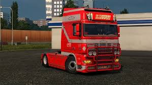 Daf Xf Super Space Cab Interior Kuba141 Download Ets 2 Mods Truck Mods Euro Truck Simulator 2