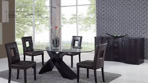 Black Oval Dining Room Table - oval dining room table sets