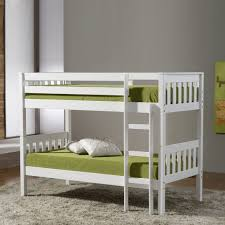 space saving double bed fascinating kids bedroom design with green sheet and white space