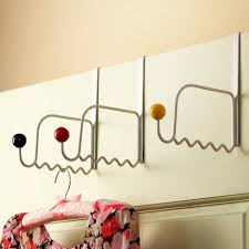 accessories foxy image of decorative white hooks for clothes