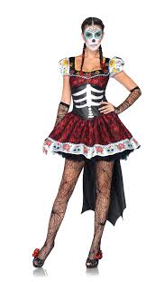 dia de los muertos darling womens costume skeleton dress