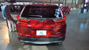 all new 2017 honda cr v debuts with optional turbo engine
