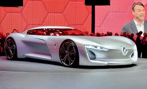 renault supercar renault trezor is an electric grand tourer from the future