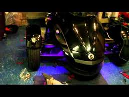 led lights installation on can am spyder youtube