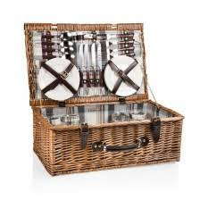 Picnic Basket Set For 4 Picnic Time Baskets U0026 Outdoor Dining Products Everything Kitchens