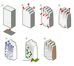 mixed use tower moho architects architects concept diagram