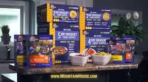 Mountain House Food Mountain House U2014 Multi Day Emergency Food Supply Kits Youtube