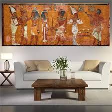 living room wall art egyptian decor canvas painting oil painting wall pictures for living room wall decor large canvas art unframed