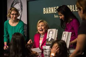 hillary clinton holds book signing at barnes u0026 noble in union