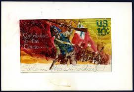 black heritage stamp series origins