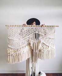 Macrame Home Decor by Tying The Knot Macramé Wedding Decor Is All The Rage Salt Lake