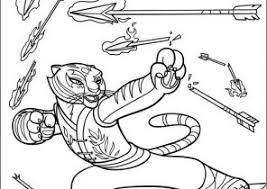 kung fu panda coloring pages coloring4free