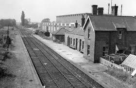 Burwell railway station
