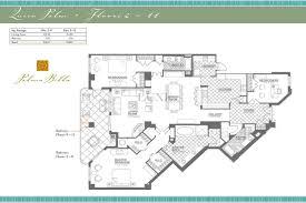 palma bella condos floor plan 3425 s atlantic ave 32118
