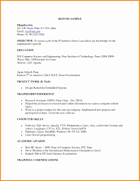 what is the format of a resume resume format for experienced mechanical design engineer