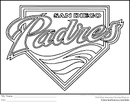 san diego coloring pages ginormasource kids