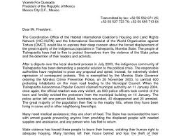 application letter for government position in the cover letter