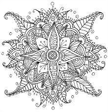 beautiful mandala coloring pages mandala print free beautiful detailed line art free to print and
