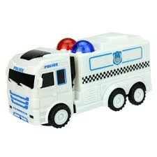 police truck omni direction toy truck juguetes kids toys police truck car with